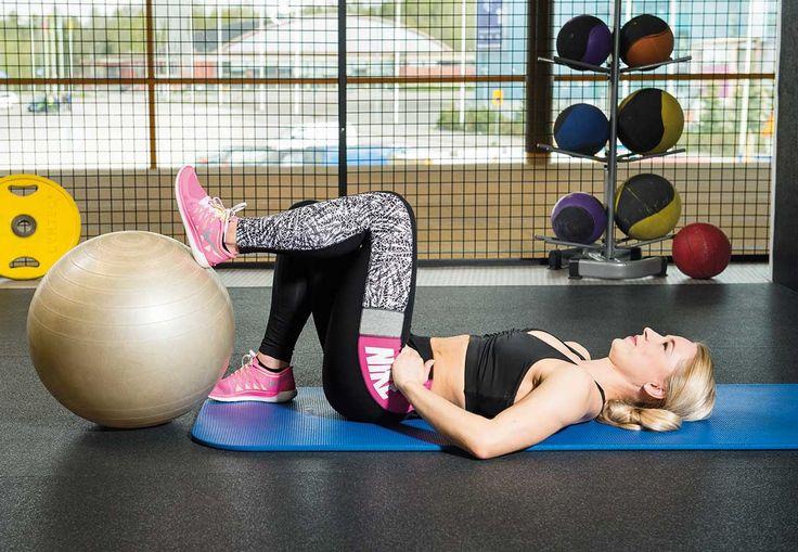 Treenaatko vatsalihaksia? Muista tehdä tueksi myös nämä liikkeet