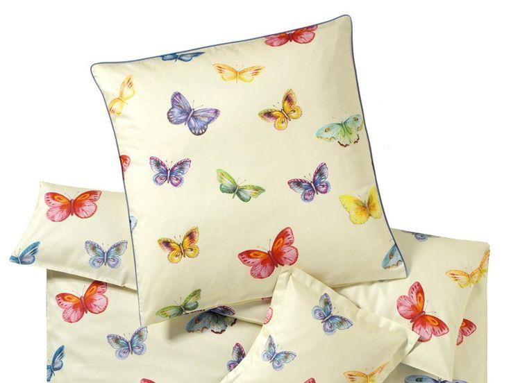 Pościel Elegante Butterfly One Vanille