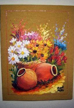 Pintura: tarjetas y separadores por joana