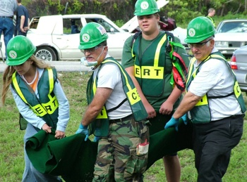 """CERT (Community Emergency Response Team)  Great way to get """"hands on"""" training for community disasters.  All states are required to have them.  LEPC (Local Emergency Planning Committee) is different because they handle biohazard emergencies.  CERT handles fires, tornadoes, natural disasters.  If you want to know what chemicals are being used in your community by manufacturers, contact your local LEPC and fill out a records request.  They have to give it to you."""