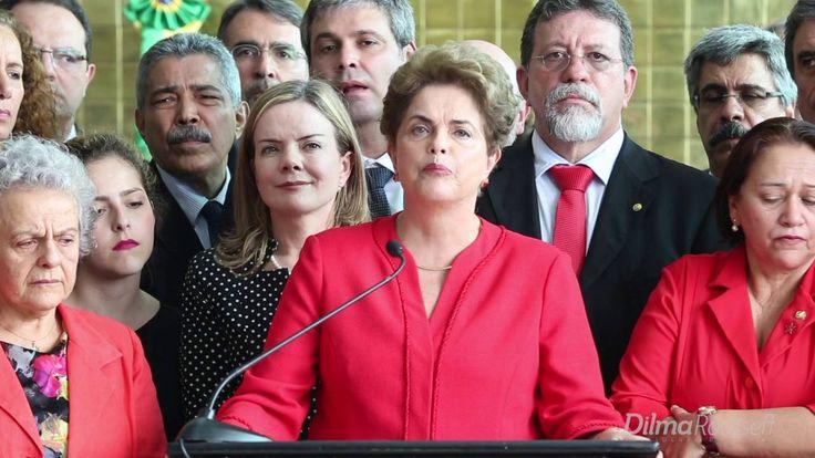 Íntegra do pronunciamento da presidenta Dilma após consumação do golpe p...