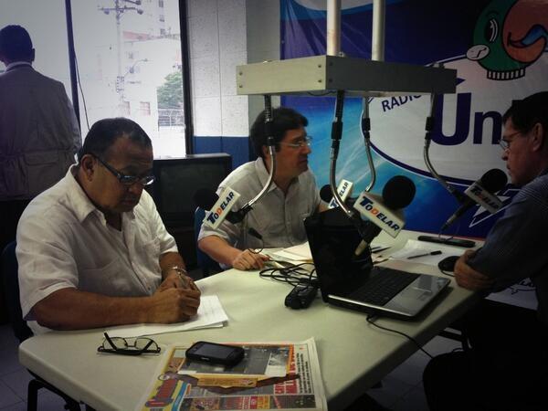 En Radio Unica de Todelar Cali. @PachoSantosC