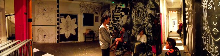 Panoramic view backstage at the When Poppy Met Daisy fashion school launch in The Grand Social!  Photo Credit: Laura Vitel