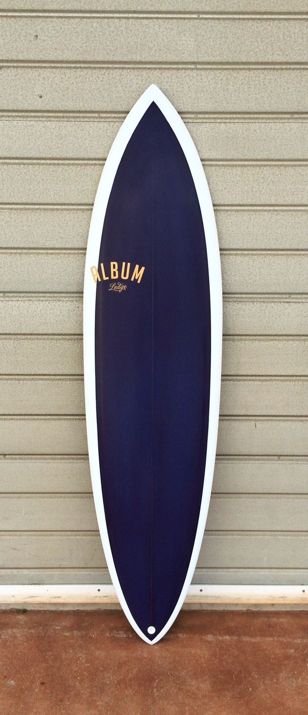"Album Surfboard  - Ledge Step-Up 5'10"" x 18.5"" x 2.32"" - 28.7 liters 6'0"" x 18.75"" x 2.38""- 30.6 liters"