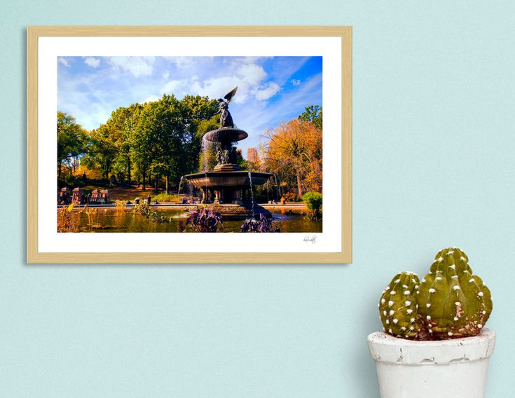 «Central Park NY», Numbered Edition Art Print by haroulita - From 18€ - Curioos