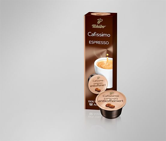 Espresso bez kofeinu, 10 kapslí