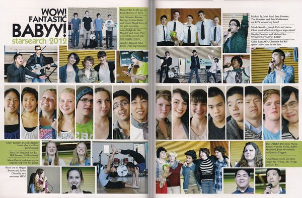 "Previous pinner wrote: ""Is it selfish to give the yearbook staff a full spread...maybe. Do I want to do it anyway? Absolutely. I am loving this."""
