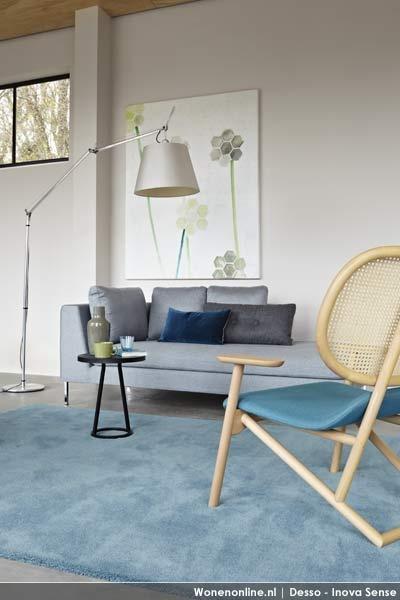Desso Inova sense rug - aqua blue