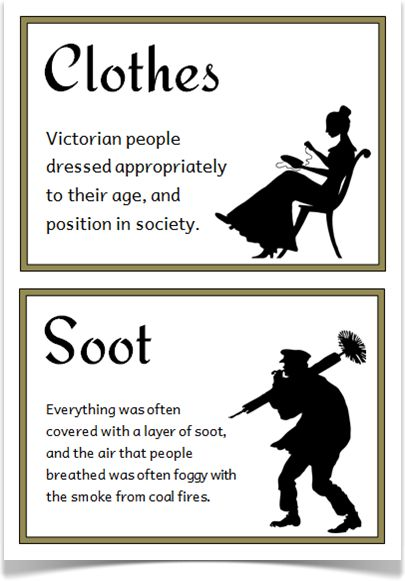 The Victorians Fact Cards - Treetop Displays - A set of 24 A5 fact cards that give fun and interesting facts about the Victorians. Each fact card has a key word heading, making this set an excellent word/ vocabulary bank as well! Visit our website for more information and for other printable classroom resources by clicking on the provided links. Designed by teachers for Early Years (EYFS), Key Stage 1 (KS1) and Key Stage 2 (KS2).