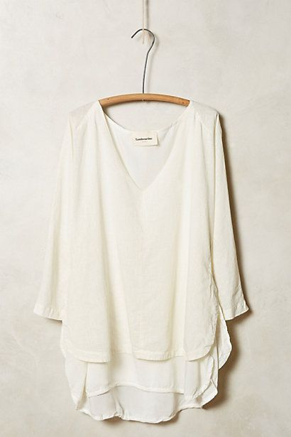 Double Layer Tee #anthrofave #anthropologie.com