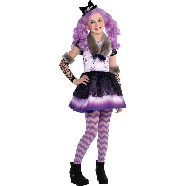 Girls Kitty Cheshire Costume - Ever After High | Ever ...
