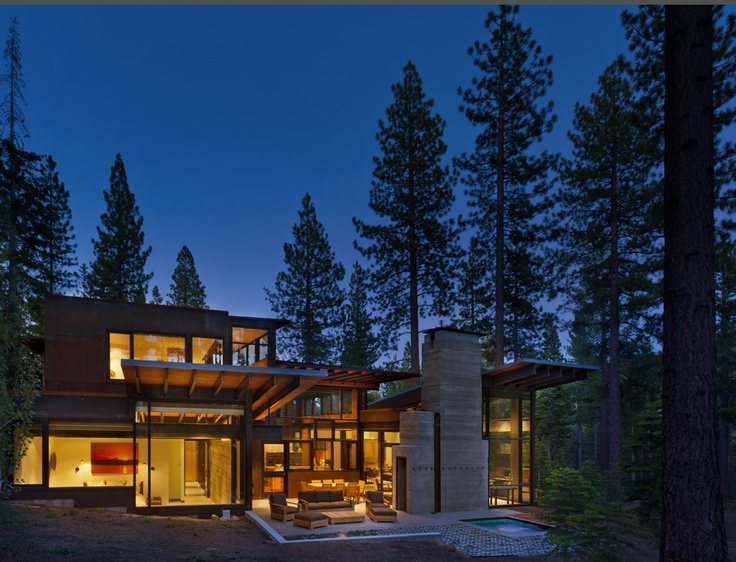 17 best images about modern mountain home on pinterest for Modern mountain house