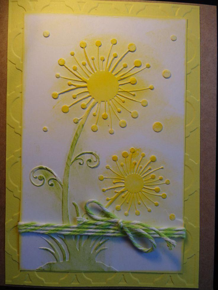 Card Making Ideas Using Embossing Folders Part - 43: Darice Embossing Folder