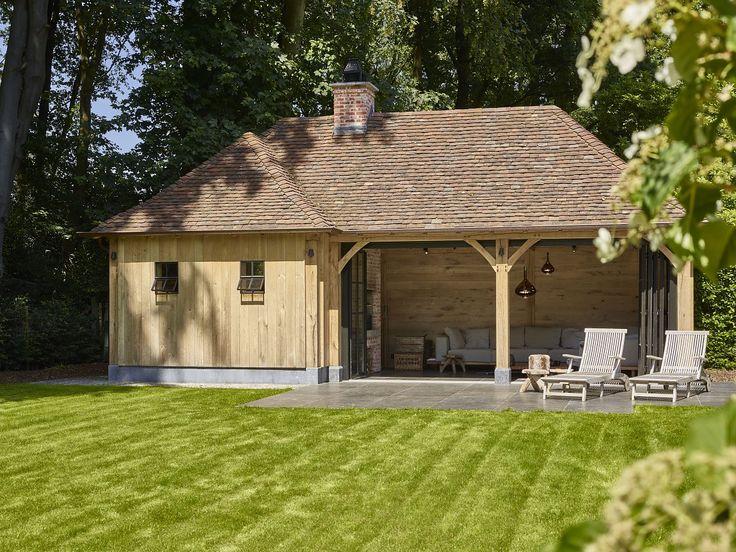 sauna in houten bijgebouw | Bogarden