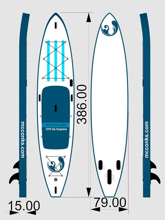Want to surf on the waters? Order the excellent quality inflatable Paddleboard from mcconks.com and you'll experience the impeccable glides on the waters.