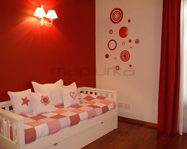 habitaciones empapeladas y decoracion de dormitorios con