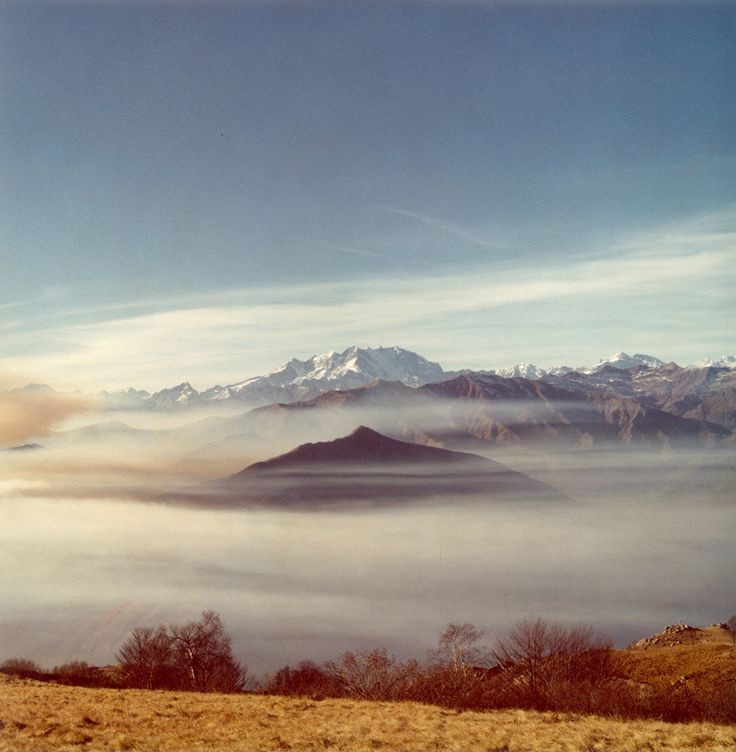 Mount Mottarone - Giovanni Chiaramonte, Novara (1980)  #alps #mountain #italy