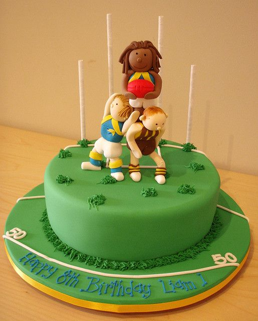 AFL Cake by Takes the Cake, via Flickr