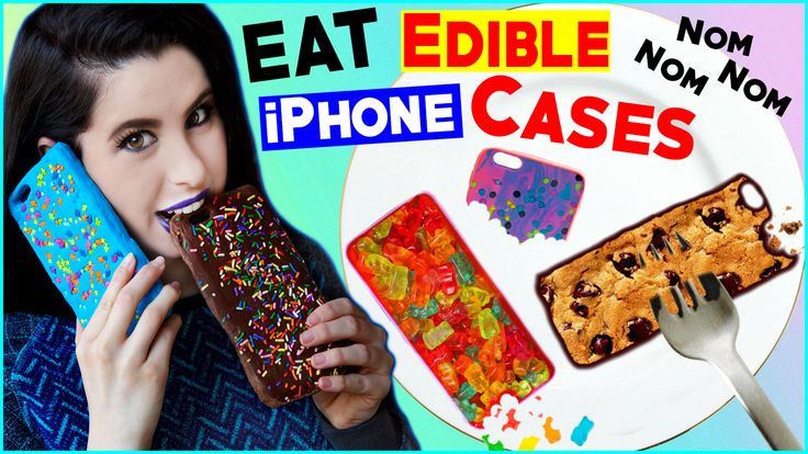 DIY Edible iPhone Cases! | EAT Your Phone Case! | How To Make The FIRST Eatable Phone Case! https://youtu.be/ib-7wDYWrsk