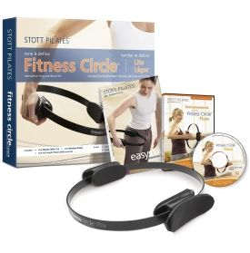 Get into a well-rounded fitness program with the STOTT PILATES® Power Pack with Fitness Circle Lite. This complete power pack includes one Fitness Circle® Lite, Fitness Circle® Flow DVD and a Bonus Easy Start Poster. The resistance workout increases strength, flexibility and muscle tone while developing greater body awareness. It also has inner and outer foam grips designed for your comfort.