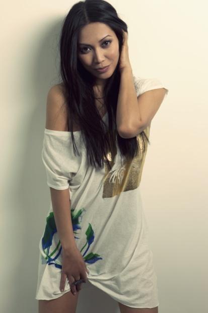Anggun C. Sasmi Hairstyle   Fashionable Hairs