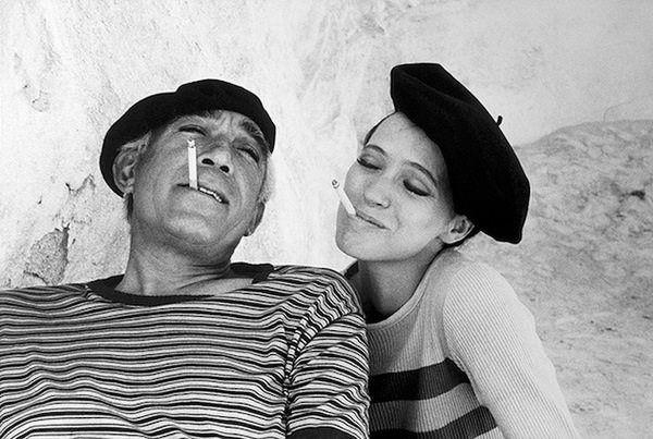 a stripes art flirt@Pablo Picasso