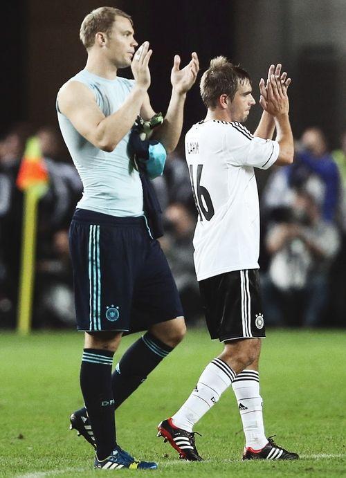 Manuel Neuer - Philipp Lahm
