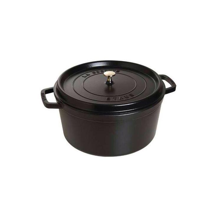 Scopri tutti i vantaggi della #ghisa, per cucinare con piacere e con gusto... #Staub realizza una serie di casseruole in ghisa smaltata di ottima qualità. La ghisa smaltata è uno dei materiali che meglio trattiene il calore, lo diffonde lentamente e lo distribuisce in modo perfettamente omogeneo, qualunque sia il piano di cottura. Trattiene altrettanto bene anche il freddo, perciò è adatta per conservare gli alimenti in frigorifero…