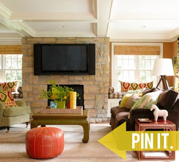Pin It Get Poufs Living Room Color SchemesLiving