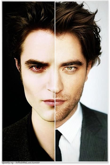 Edward - Robert... Im so confused, im actually gravitating towards the fictional character..