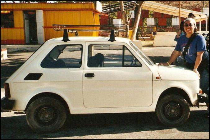 Old Lada in Varadero, Cuba