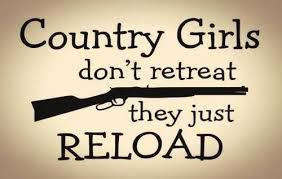 #countrygirls #shotguns I may be a city girl but it still applies.