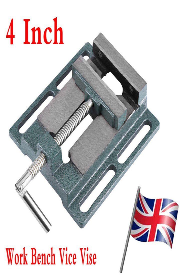 8 99 Gbp Machine Vice For Pillar Drill Press Hand Clamp Opening Drill Press Work Bench 4 Machine Vice Pillar D Benches For Sale Drill Press Workbench