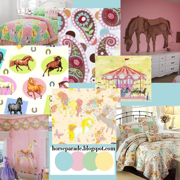 Girly Bedroom Themes: 62 Best Girly Horse Bedroom Images On Pinterest