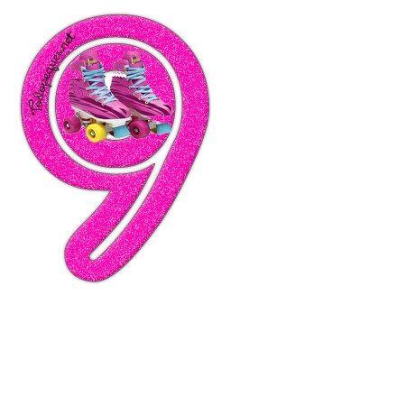 Numeros de Soy Luna - Numeros para imprimir Soy Luna 9