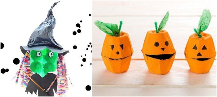 ▷ 1001 + idées de bricolage halloween en maternelle pour