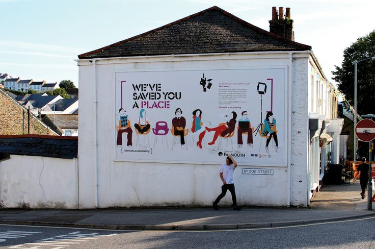 Falmouth University Clearing campaign | Nixon Design