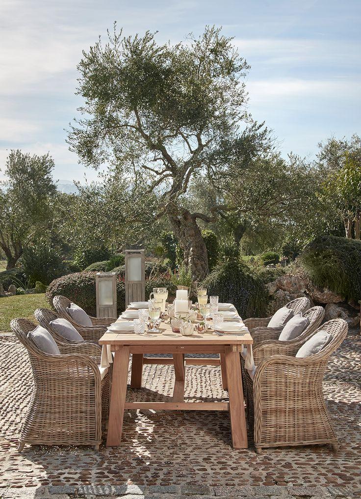 »Toskana Traum« Tafeln wie auf einem italienisch…