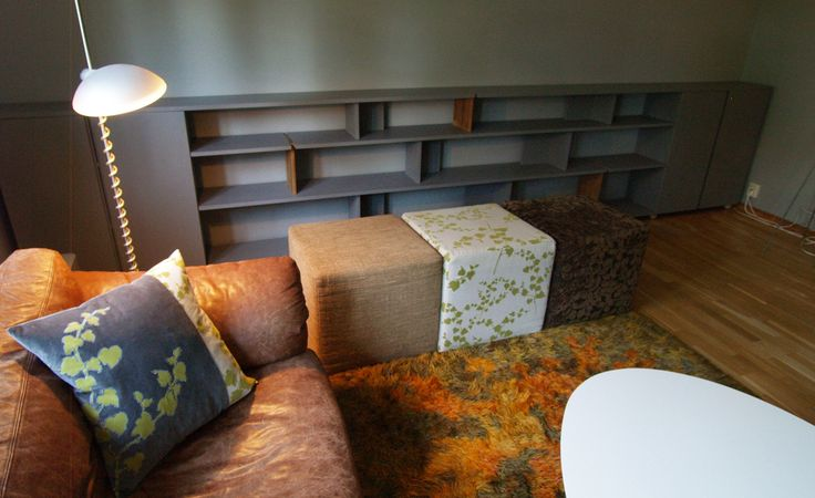 Shelves designed by Drawing Room
