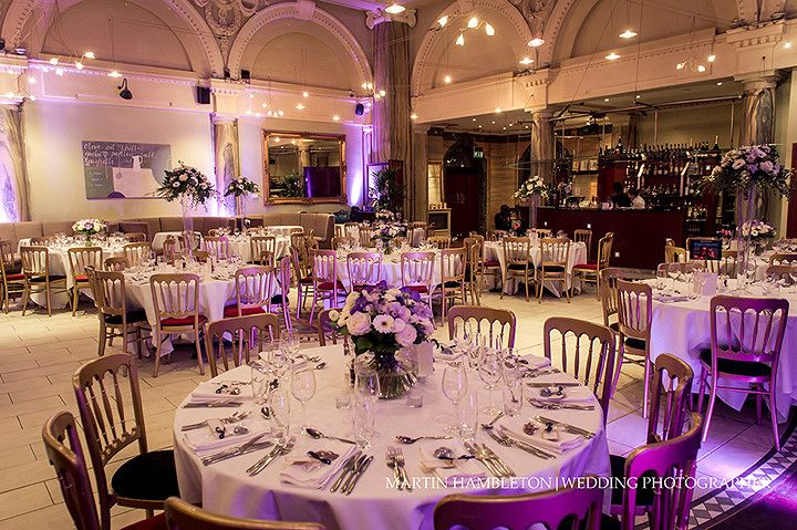 Manchester Wedding Venue Stock Restaurant Ready For The Wedding Breakfast