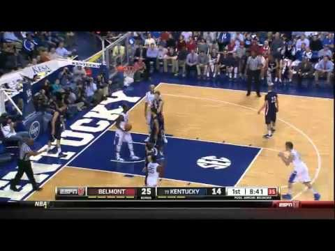 12/21/2013 Belmont vs Kentucky Men's Basketball Highlights - YouTube. With this class, Kentucky better not bust and miss the tourney. Sick highlights