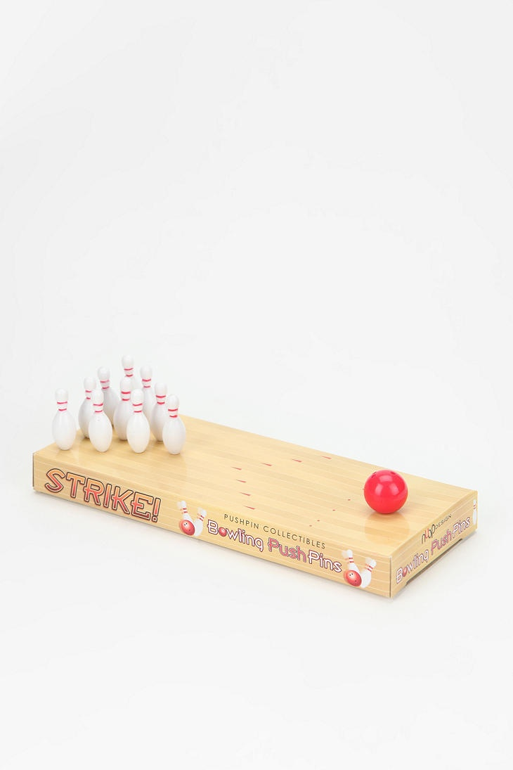 Bowling Pushpins | in the package: Bowls Pushpin
