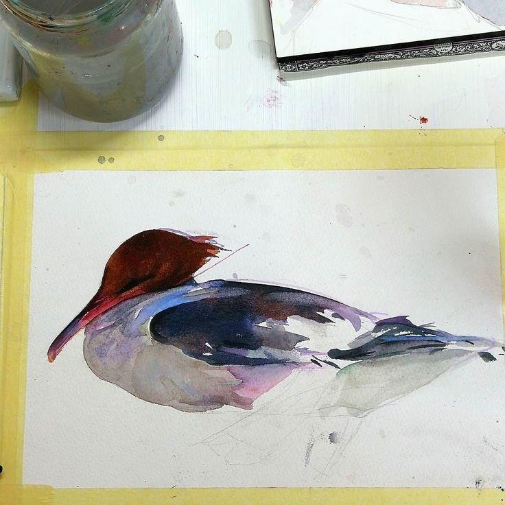 #watercolor #akvarell