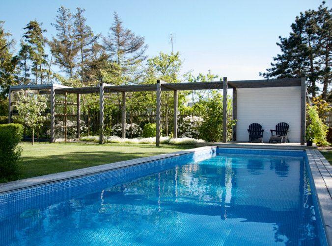Bildresultat för trädgård pool