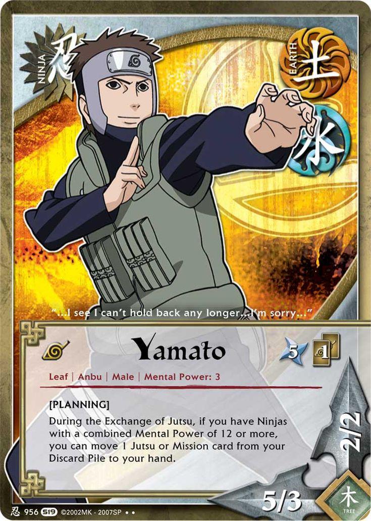 Yamato/Tenzou Naruto Kononinja Yamato, Cards, Anime