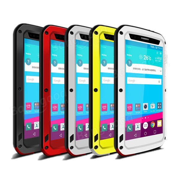 Love Mei Dirt Snow Shockproof Aluminum Metal Cover Hard Case Skin for LG G4 Sale - Banggood.com
