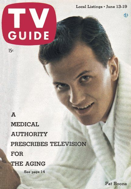 145 best pat boone images on pinterest celebrities celebs and tv guide june 13 1959 pat boone fandeluxe Choice Image