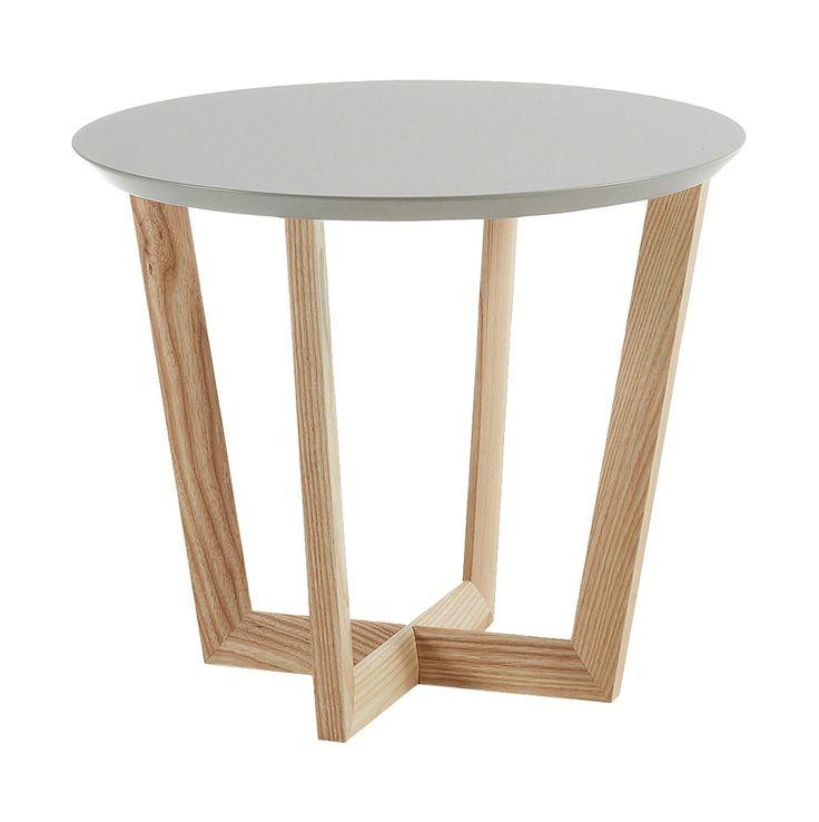 17 mejores ideas sobre mesas redondas de madera en - Mesas auxiliares pequenas ...