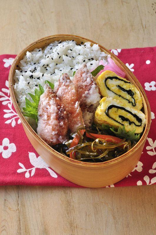鮭の竜田揚げ弁当
