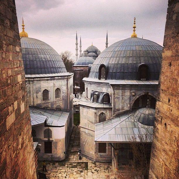 Istanbul - hagia sophia - ayasofya - blue mosque - Sultan Ahmet